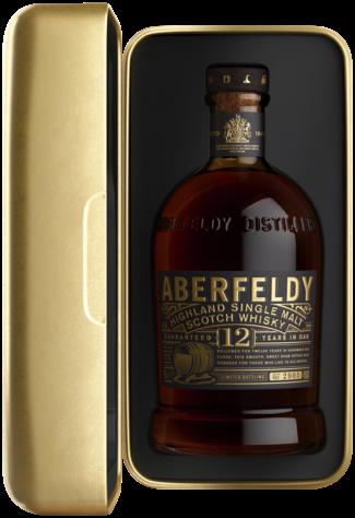 Aberfeldy 12 Years in Golden Box 70CL