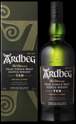 Ardbeg 10 Years 70CL Whisky 5010494195286