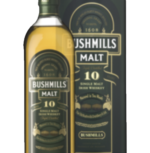 BUSHMILLS 10 YEARS 100CL