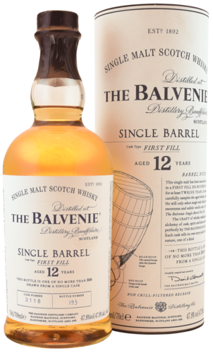 Balvenie 12 Years Single Barrel 70CL Whisky 5010327525877