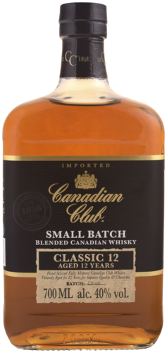 Canadian Club 12 Years 70CL