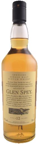 Glen Spey 12 Years Flora & Fauna 70CL