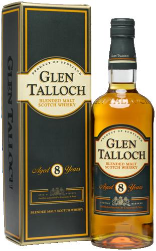 Glen Talloch 8 Years Blended Malt 70CL Whisky 8711114472349