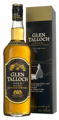 Glen Talloch Gold 12 Years 70CL Whisky 8711114472844