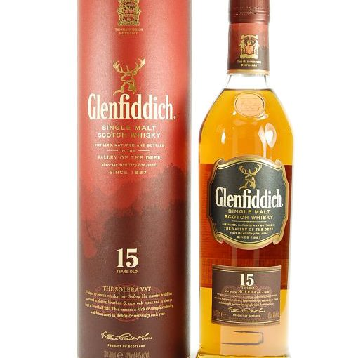 Glenfiddich 15 yrs old 70cl