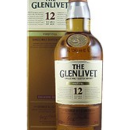 Glenlivet – 12 Years Old – First Fill – Exclusive