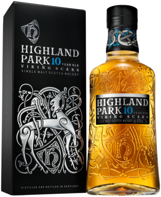 Highland Park Viking Scars 10 Years 35CL