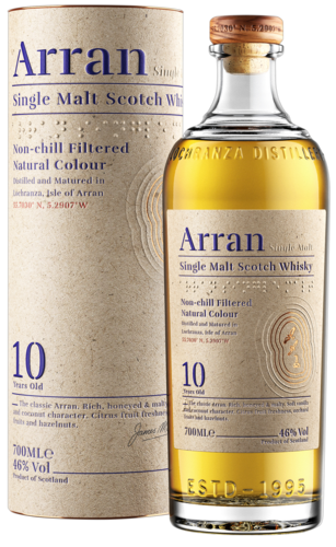 Isle of Arran 10 Years 70CL Whisky 5060044480638