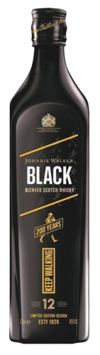 Johnnie Walker Black Label 200th Anniversary Icon 70CL Whisky 5000267179797