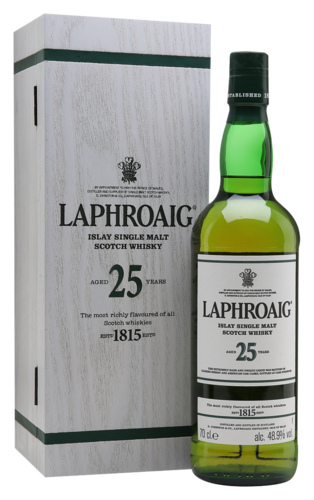 Laphroaig 25 Years 70CL Whisky 5010019638298
