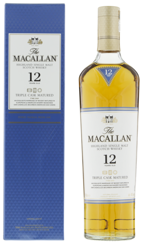 Macallan Triple Cask 12 Years 70CL Whisky 5010314048907