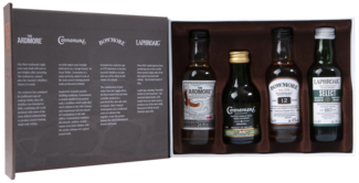 Peated Malts of Distinction 4X5CL Whisky 5010019638472