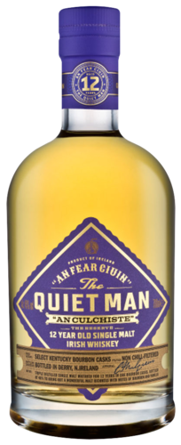 Quiet Man 12 Years Irish Single Malt 70CL Whisky 5000401020480