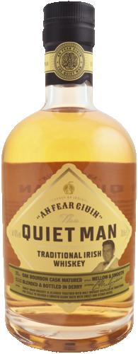 Quiet Man Traditional Irish 70CL Whisky 5000401020312