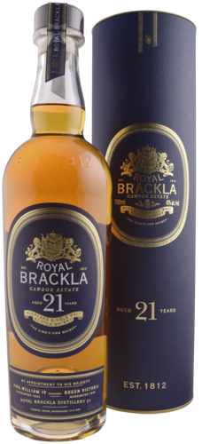 Royal Brackla 21 Years Dist 70CL Whisky 5000277000869