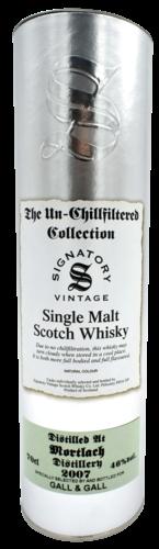 Signatory Mortlach 2007 Refill Hogshead 70CL Whisky 5021944107360