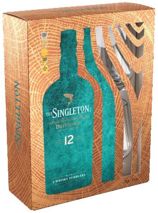 Singleton Dufftown Met 2 Glazen 70CL