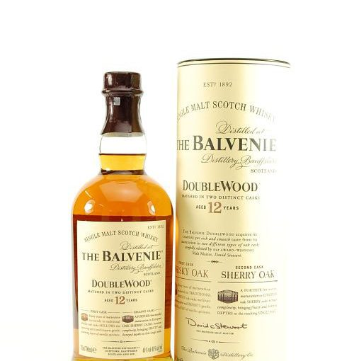 The Balvenie Double wood 12 yrs. old 70cl