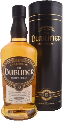 The Dubliner 10 Years Irish 70CL Whisky 5390424122026