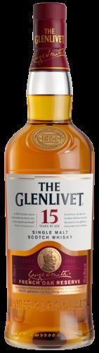 The Glenlivet 15 Years French Oak Reserve 70CL