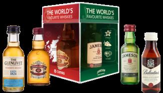 The World's Favourite Whiskies met 4 mini's 4X5CL