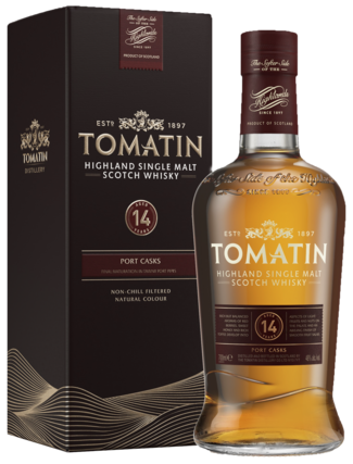 Tomatin 14 Years Portwood 70CL Whisky 5018481023345