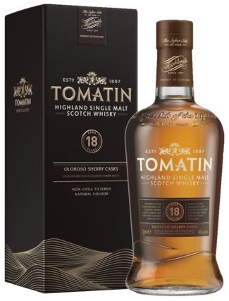 Tomatin 18 Years 70CL