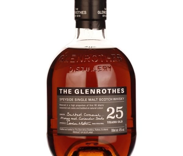 The Glenrothes 25 years Single Malt 70CL
