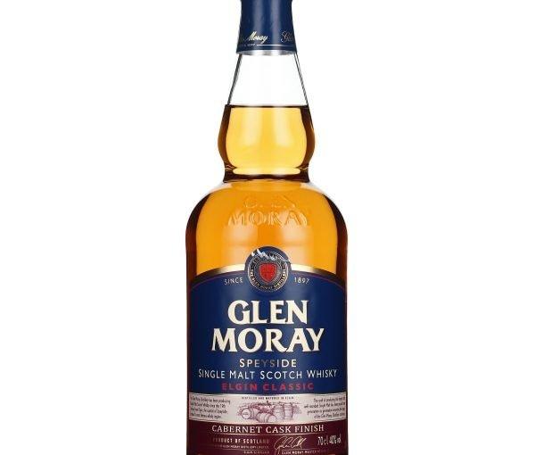 Glen Moray Cabernet Cask Finish Elgin Classic 70CL