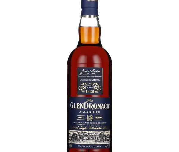 GlenDronach 18 years Allardice Bottled 2019 70CL