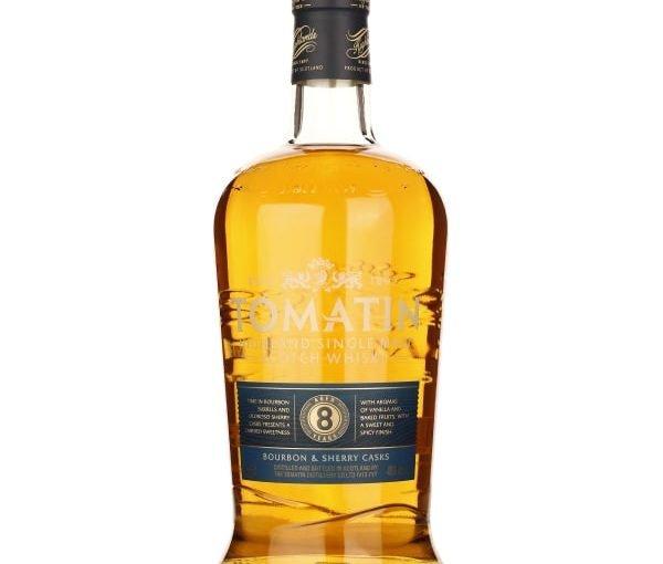 Tomatin 8 years Bourbon & Sherry Casks 1LTR