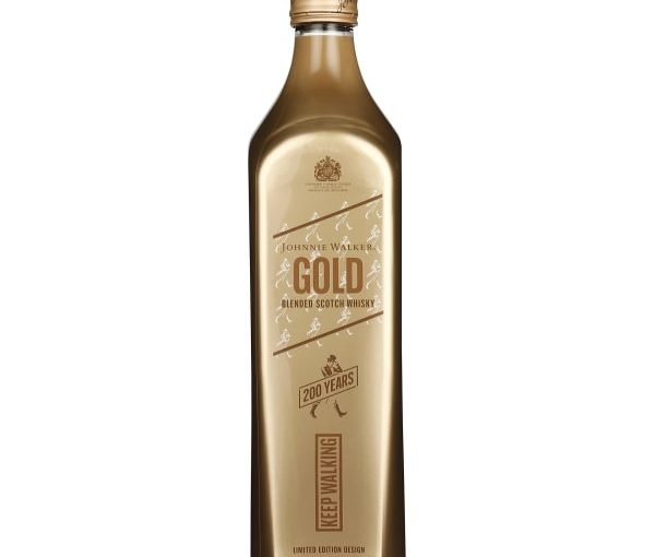 Johnnie Walker Gold Label 200th Anniversary Icon Pack 70CL