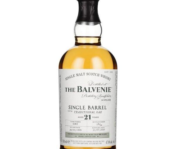 Balvenie 21 years Single Barrel 70CL