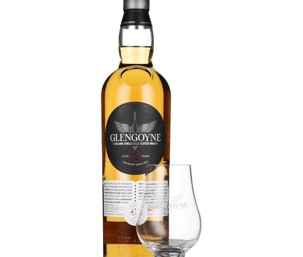 Glengoyne 12 years Time Keeper Giftset 70CL