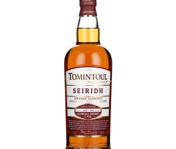 Tomintoul Seiridh Oloroso Sherry Cask 70CL