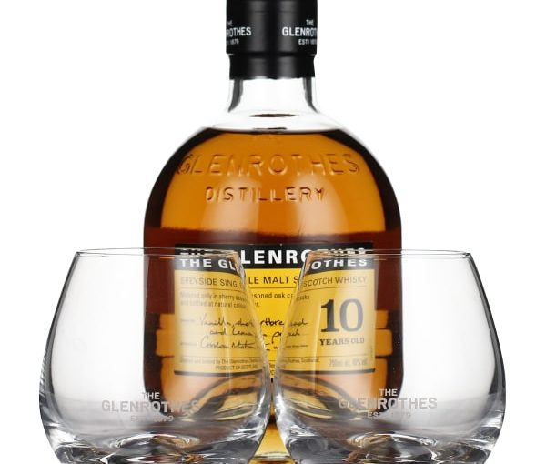 The Glenrothes 10 years Single Malt Giftset 70CL