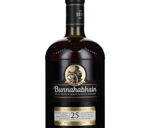 Bunnahabhain 25 years Single Malt 70CL