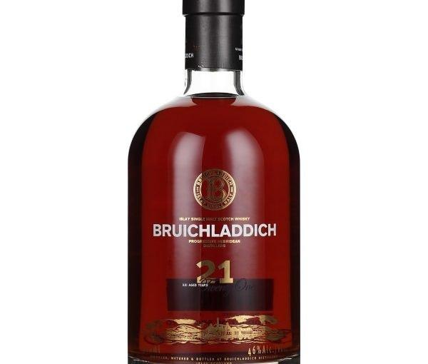 Bruichladdich 21 years Single Malt 70CL
