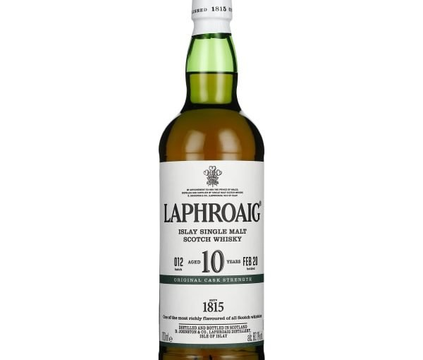 Laphroaig 10 years Cask Strength 2020 70CL