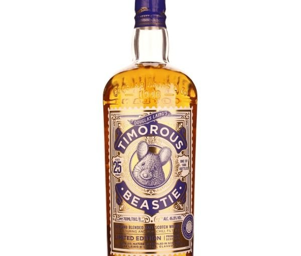 Douglas Laings Timorous Beastie 25 years Limited Edition 70CL