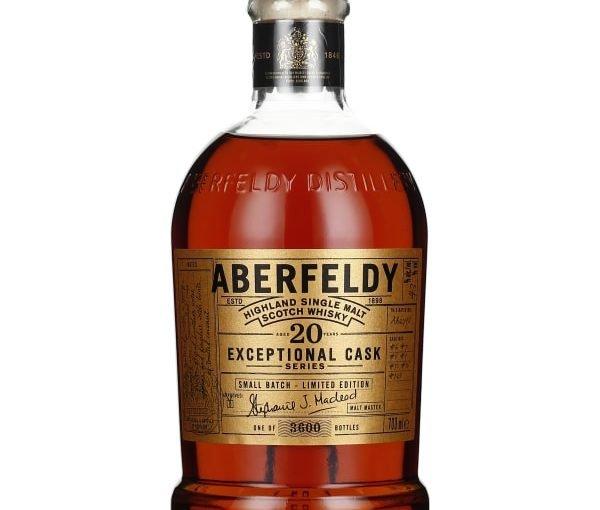 Aberfeldy 20 years Exceptional Cask Single Malt 70CL