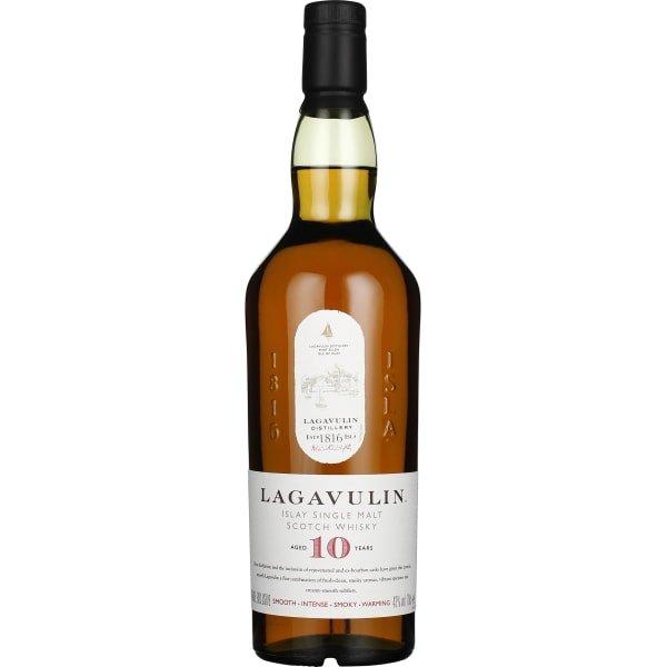 Lagavulin 10 years Single Malt 70CL