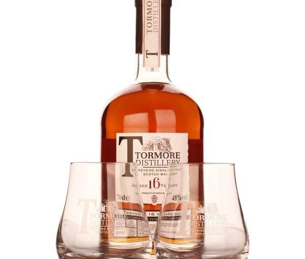 Tormore 16 years Single Malt Giftset 70CL