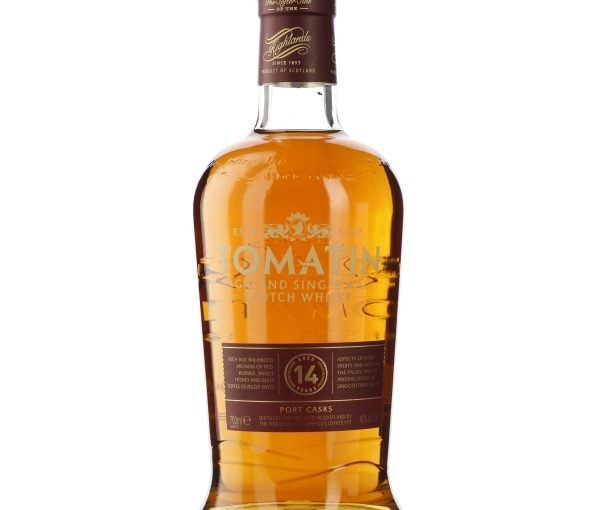 Tomatin 14 years Port Wood Finish 70CL