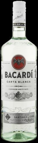 Bacardi Carta Blanca 100CL