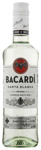 Bacardi Carta Blanca 50CL