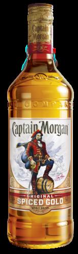 Captain Morgan Spiced Gold 100CL Rum 5000299223055