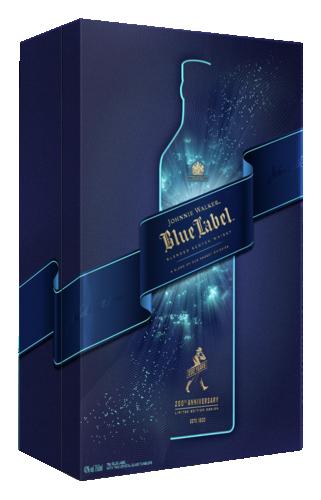 Johnnie Walker Blue Label met 2 Glazen 70CL Whisky 5000267180946