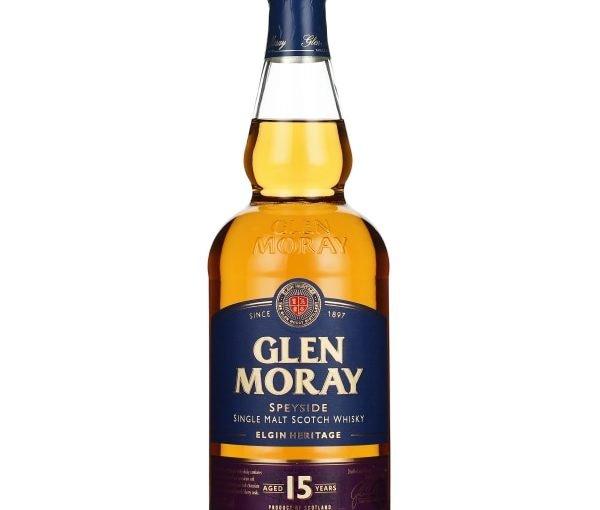 Glen Moray 15 years Single Malt 70CL