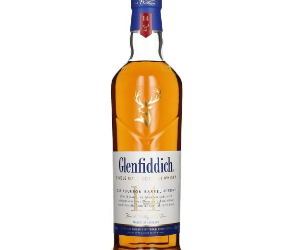 Glenfiddich 14 years Bourbon Barrel Reserve 70CL